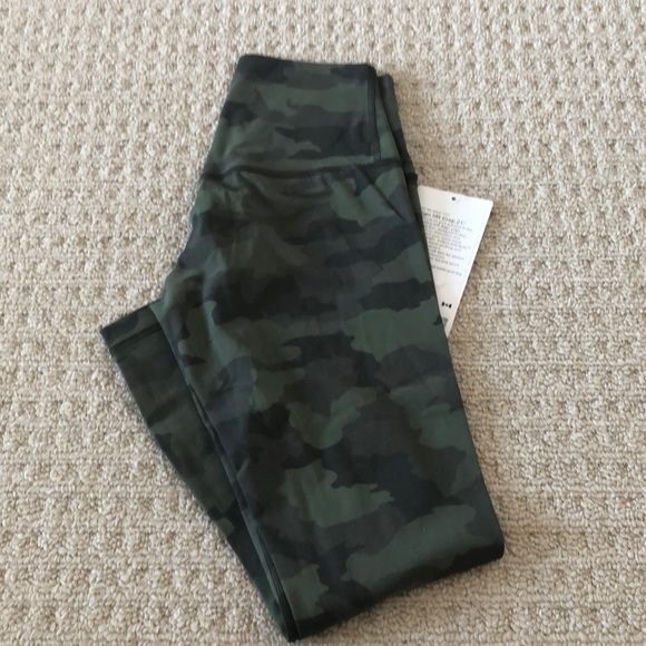 Lululemon align crop tights pant  nwt size 4 21""